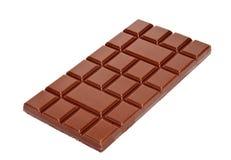 Zmrok czekoladowych barów dojna cała sterta odizolowywająca Obrazy Stock
