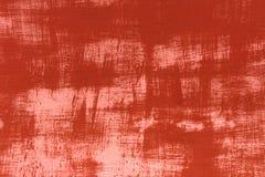 Zmrok - czerwieni i bielu tekstury tła metalu ściany abstrakta szczotkarski wzór Obrazy Stock