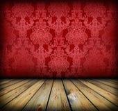 zmrok - czerwony izbowy rocznik Obraz Stock