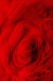 Zmrok - czerwony pluszowy tkanina zawijas zdjęcie stock