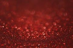 Zmrok - czerwony rubinowy błyskotliwości tło zdjęcia stock