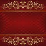 Czerwony tło Obraz Stock