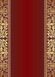 Zmrok - czerwony tło Obraz Royalty Free