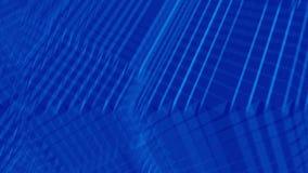 Zmrok - niebieska linia materiału filmowego tło royalty ilustracja