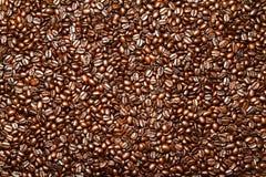 Zmrok Piec Kawowej fasoli tło Obraz Royalty Free