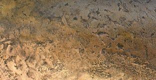 Zmrok starzejąca się brązu lub bednarza półkowa tekstura obrazy stock