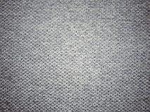 Zmrok - szara tkaniny tekstura Fotografia Stock