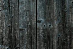 Zmrok - szarości zielony drewniany ogrodzenie Podławy stół, brudny dąb, olchowy drzewo, sosnowa tarcica Stare popielate drewniane zdjęcia royalty free