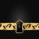 Zmrok - szary tło z horyzontalnym zespołem kwadratowym VIP logem i ilustracja wektor