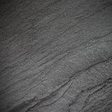 Zmroku czerni łupku popielaty tło lub tekstura Obrazy Royalty Free