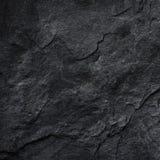 Zmroku czerni łupku popielaty tło lub tekstura Zdjęcia Stock