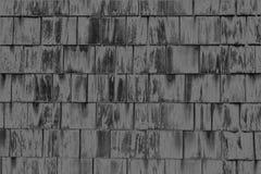 Zmroku kwadrata Popielaty Drewniany wzór Backgroud obrazy royalty free