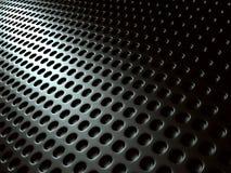 Zmroku Srebnego metalu Błyszczący tło Przemysłowy Futurystyczny ilustracja wektor