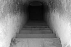 zmroku tunel Fotografia Royalty Free