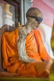 Zmumifikowany michaelita w Koh Samui, Tajlandia - Obrazy Royalty Free