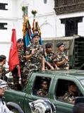 zmusza Nepal militarnego dodatek specjalny zdjęcia royalty free
