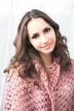 Zmysłowa brunetka Fotografia Royalty Free