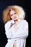 zmysłowa kobieta Fotografia Stock