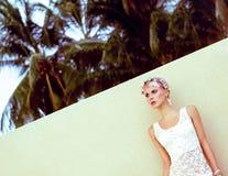 Zmysłowa mody dziewczyna Fotografia Royalty Free