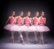 Zmysłowy i emocjonalny taniec piękny Zdjęcie Stock
