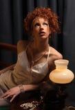 zmysłowa kobieta Fotografia Royalty Free