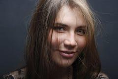 zmysłowa portret kobieta Fotografia Royalty Free