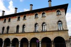 Znacząco i historyczny budynek Vicenza w Veneto (Włochy) Zdjęcia Stock