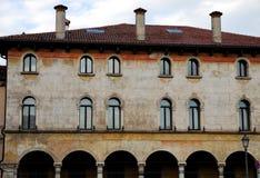 Znacząco i historyczny budynek Vicenza w Veneto (Włochy) Fotografia Royalty Free