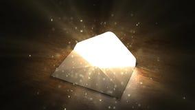 znacząco list Magia list Ciekawa zawartość w liście 61 ilustracja wektor