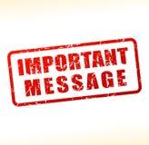 Znacząco wiadomość tekst buforujący royalty ilustracja