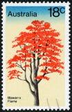 Znaczek pocztowy - Australia zdjęcia stock