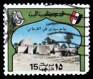 Znaczek pocztowy drukuj?cy Irak zdjęcia royalty free