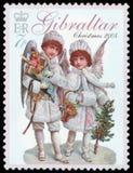 Znaczek pocztowy - Gibraltar Obrazy Royalty Free