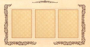znaczek pocztowy rocznik zdjęcia stock