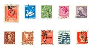 znaczki Zdjęcia Royalty Free