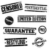 znaczki Obraz Royalty Free