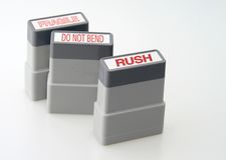 znaczki biurowe Obrazy Stock