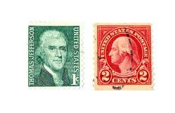 znaczki pocztowe zdjęcie royalty free