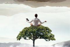 Znajdować minutowego odpoczynek Mieszani środki Mieszani środki Zdjęcia Stock