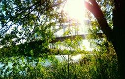 znajduje most: zdjęcie royalty free