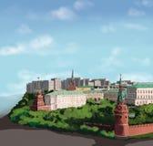 Moskwa ilustracja wektor