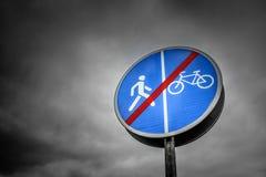 Znaków zabraniać Fotografia Stock