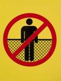 znak Zdjęcie Royalty Free