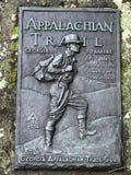 znak appalachian toru obraz stock