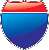 znak autostrady Zdjęcia Royalty Free