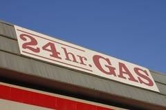 znak benzynowa stacja Obraz Royalty Free