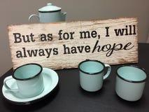 Znak dla kawowego baru Zdjęcie Royalty Free