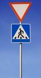 znak drogowy Obrazy Stock