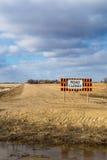 znak drogowy blisko Zdjęcie Stock