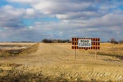 znak drogowy blisko Obraz Stock